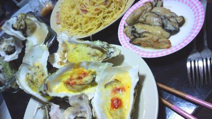 牡蠣料理色々。