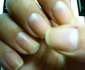 素爪と指先